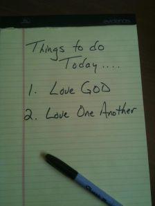 Love tasks