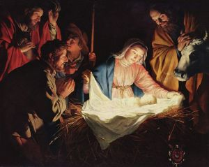 Birth of Jesus - Gerard_van_Honthorst_001