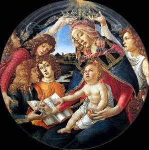 Botticelli_Uffizi_37 - Madonna-Magnificat