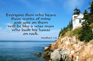 build on rock