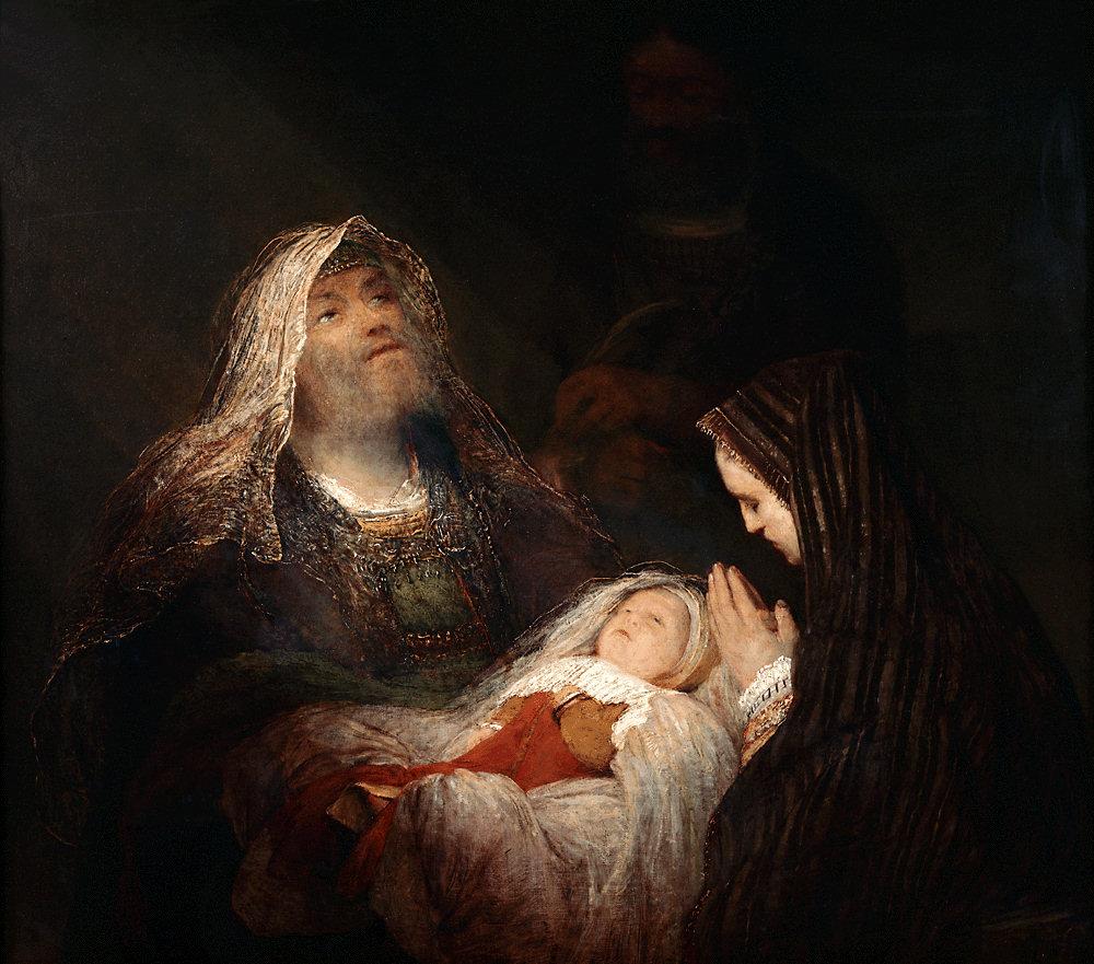 The Octave of Christmas: Simeon\'s Canticle. Catholic Inspiration ...
